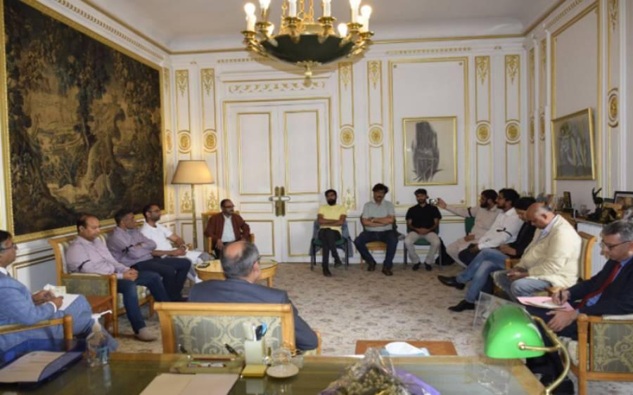 فرانس میں مقیم پاکستانی صحافی برادری نے پاکستان میڈ یا ڈولپمنٹ اتھارٹی کے خلاف پیرس میں قائم پاکستانی سفارتخانے کو تحفظات سے آگاہ کردیا