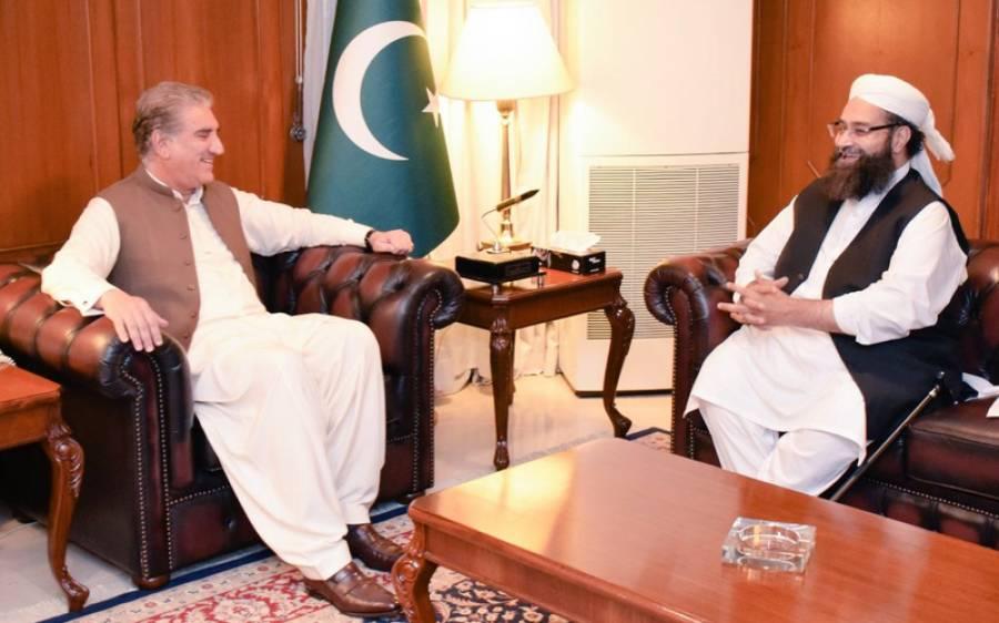علامہ طاہر اشرفی کی شاہ محمود شاہ قریشی سے ملاقات ، اہم امور پر تبادلہ خیال