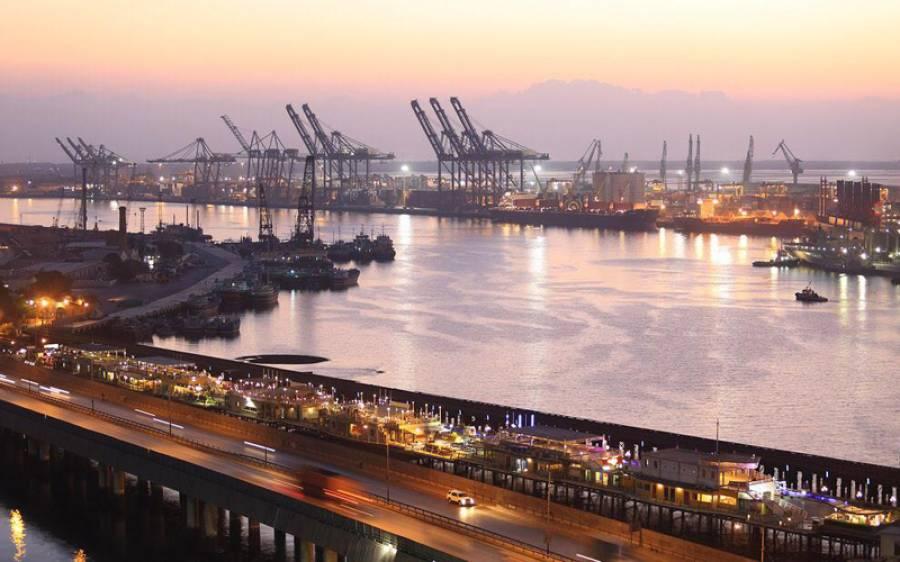 گرین لائن پراجیکٹ،چین سے 40گرین بسیں کراچی پورٹ پر پہنچ گئیں