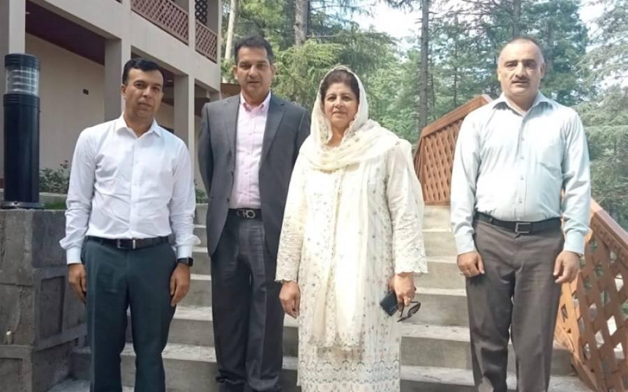 وزیر اعظم آزاد کشمیر کے معاون خصوصی چوہدری اقبال کا ایم ٹی بی سی کے پراجیکٹ
