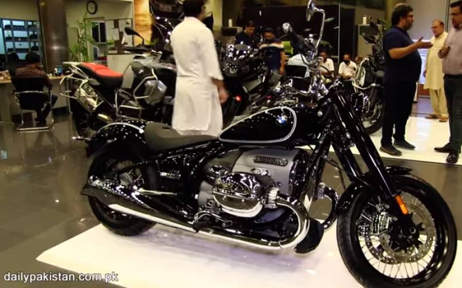 BMW نے پاکستان میں 1800cc ہیوی بائیک متعارف کروادی، اس کے فیچرز اور قیمت جانیے