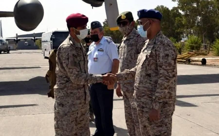 یونان میں مشترکہ فوجی مشقیں آج سے شروع ، سعودی عرب ، یو اے ای ، مصر کے دستے پہنچ گئے