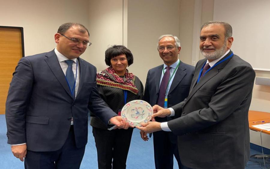 آئی اے ای اے جنرل کانفرنس، پاکستانی وفد کی نائیجریا، آذر بائیجان، بیلاروس کے وفود سے ملاقاتیں، باہمی تعاون بڑھانے پر اتفاق