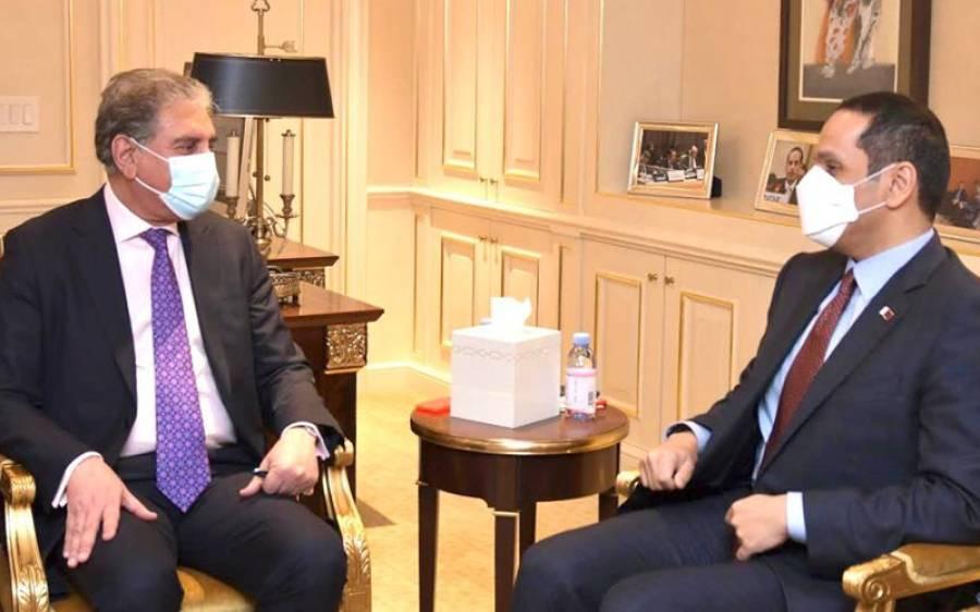 شاہ محمود قریشی کی یورپی یونین خارجہ امور کے سربراہ سے ملاقات ، دو طرفہ تعلقات اور افغان صورتحال پر تبادلہ خیال