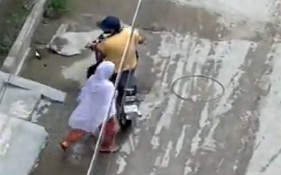 لاہور میں خاتون کو ہراساں کرنے کی ایک اور ویڈیو سامنے آگئی