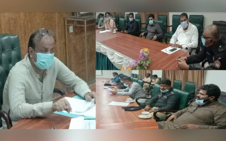 سرکاری محکموں کی اراضی پر کئے گئے قبضے جلد از جلد ختم کرائے جائیں: ڈپٹی کمشنر عمرکوٹ ندیم الرحمان میمن