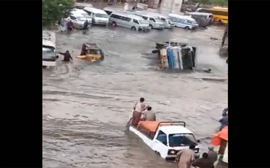 کراچی میں مون سون کے نئے سپیل کی پیشگوئی، اربن فلڈنگ کا خطرہ ظاہر کردیا گیا