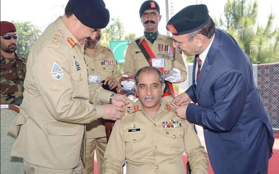 لیفٹیننٹ جنرل (ر) اشفاق ندیم احمد کی نماز جنازہ ادا ، آرمی چیف سمیت اہم فوجی افسران کی شرکت