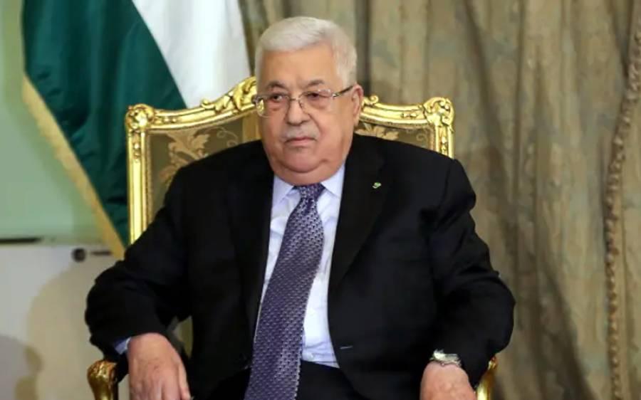 فلسطینی صدر نے اسرائیل کو 1967 کی سرحدوں پر واپس جانے کیلئے ایک سال کی ڈیڈ لائن دے دی
