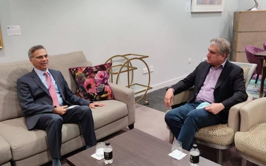 وزیر خارجہ شاہ محمو د قریشی نیویار ک سے لندن پہنچ گئے