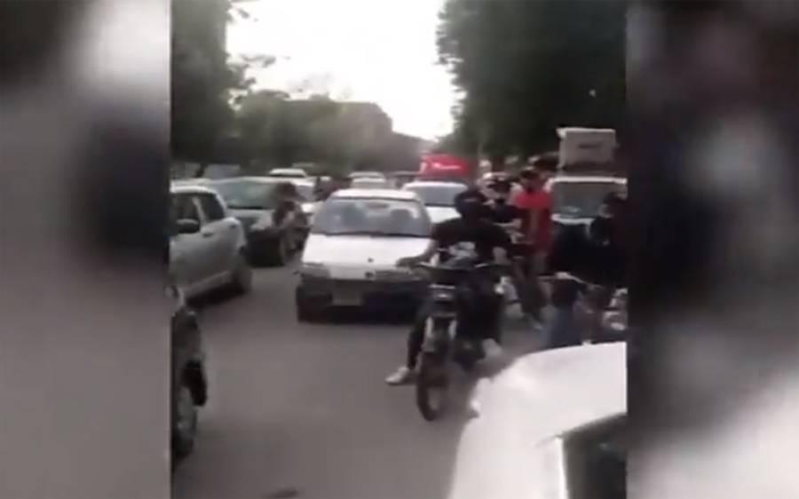 وزیر اعظم کا دورہ کراچی، وی وی آئی پی پروٹوکول کیلئے سڑکیں بند، عوام خوار، ویڈیو سامنے آگئی