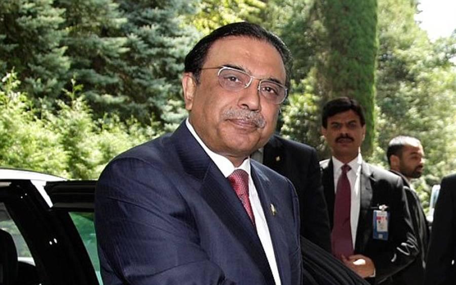 سابق صدر آصف زرداری کا واجد شمس الحسن کے انتقال پر اظہار تعزیت