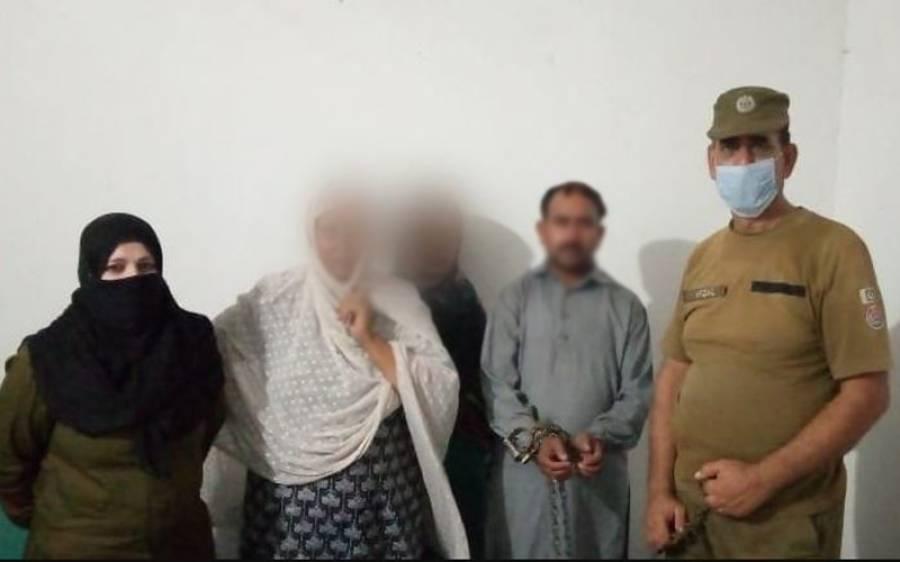 لاہور میں قحبہ خانے پر چھاپہ، دو خواتین سمیت کتنے ملزم پکڑے گئے؟