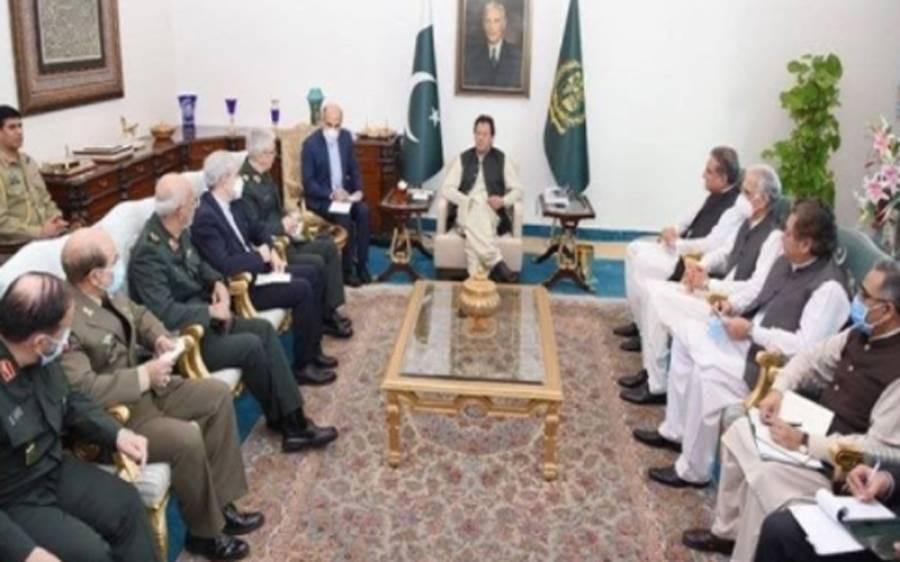 عمران خان سے ایران کے چیف آف جنرل سٹاف کی ملاقات، افغانستان اور بارڈر سیکیورٹی کے ایشوز پر گفتگو