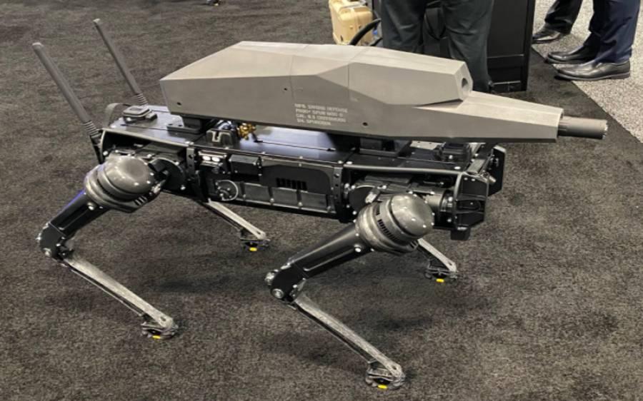 امریکہ کے شو میں سنائپر رائفل سے لیس روبوٹک ڈاگ متعارف ، اس کی خصوصیات سن کر آپ بھی دنگ رہ جائیں