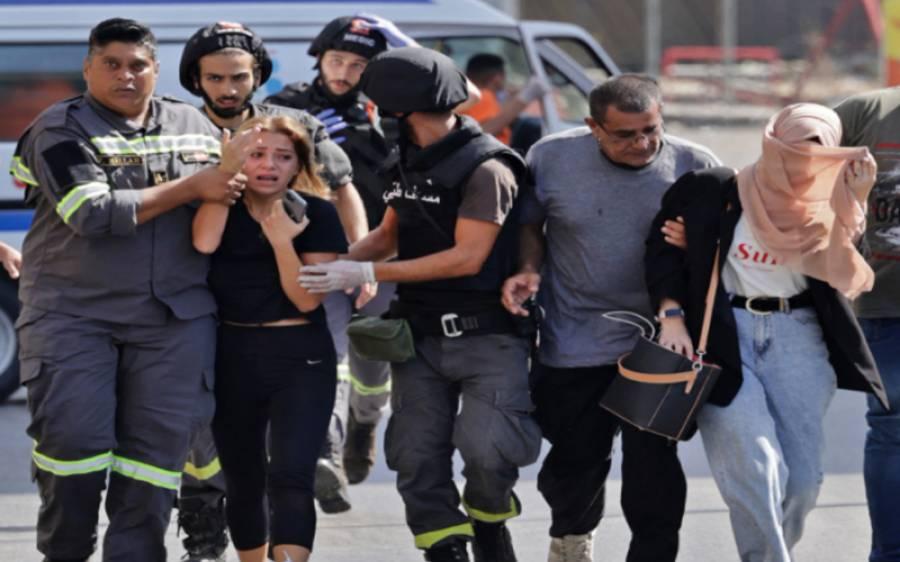 لبنان میں مظاہرین اورحکومتی حامیوں کے درمیان جھڑپیں، 6 افراد ہلاک 30 سے زائد زخمی