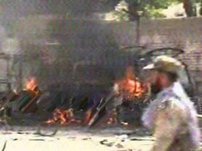 کوئٹہ: سریاب روڈ دھماکے میں دو افراد ہلاک، متعدد زخمی