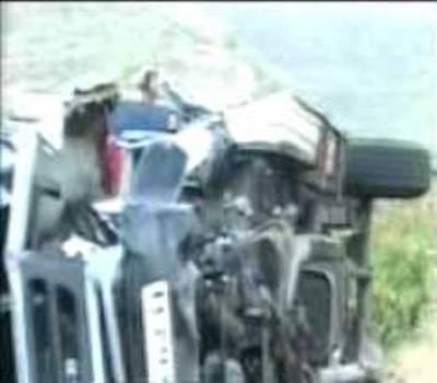 بھارت : پونامیں ٹریفک حادثہ ، 26افرادجاں بحق