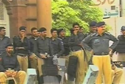 توانائی بحران ،تاجروں کی دھمکی ، اراکین اسمبلی اور سیاسی عہدیداران کے گھروں پر پولیس تعینات