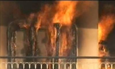 راولپنڈی میں بجلی کی لوڈشیڈنگ کے خلاف احتجاجی مظاہرہ ، واپڈا کا ڈویژنل آفس نذر آتش