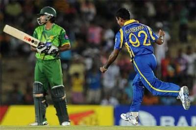 سری لنکانے پاکستان کو 37رنز سے شکست دے دی