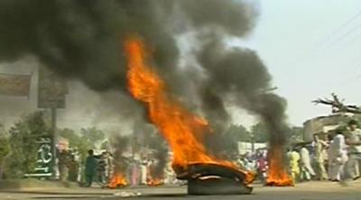 توانائی بحران کے خلاف احتجاج ، ہوائی فائرنگ سے بنوں پریس کلب کے صدر سمیت چارافرادزخمی