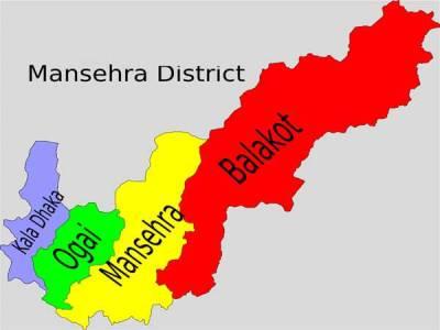 مانسہرہ میں مسافر کوچ کو حادثہ، تین مسافر ہلاک