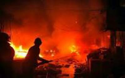 بھا رتی سٹیل پلا نٹ میں دھماکہ ،16 افراد ہلا ک