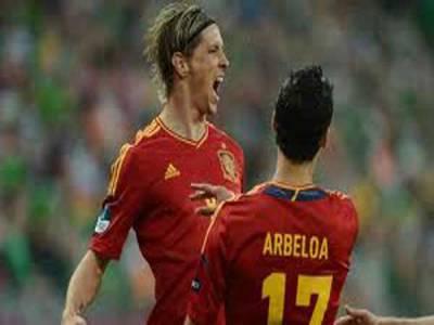 یو رو فٹبال کپ فرانس کو شکست ،سپین سیمی فا ئنل میں پہنچ گیا