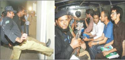 پنجاب میں ینگ ڈاکٹروں کی گرفتاری پر سندھ میں ڈاکٹروں کا سوگ