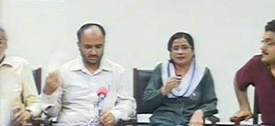 پی آئی سی لاہور کے ڈاکٹروں اور پیرامیڈیکل سٹاف نے ینگ ڈاکٹروں کی حمایت کردی