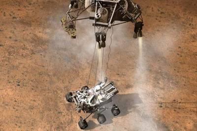 امریکی خلائی روبوٹ 6 اگست کو مریخ کی سطح پراترے گا