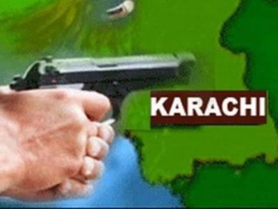 کراچی میں فائرنگ سے ایک شخص ہلاک