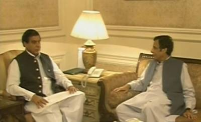 پرویزالٰہی کی راجہ پرویز اشرف سے ملاقات، پنجاب حکومت کی' شکایت' لگائی