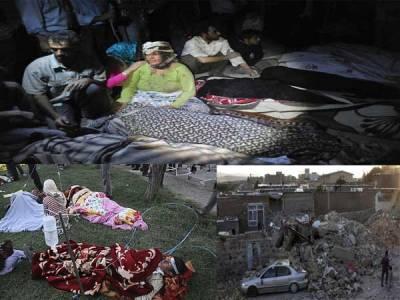 ایران میں زلزلہ، ہرطرف تباہی پھیل گئی ، 250 افراد جاں بحق، 2000زخمی، پاکستان نے امداد کی پیشکش کر دی