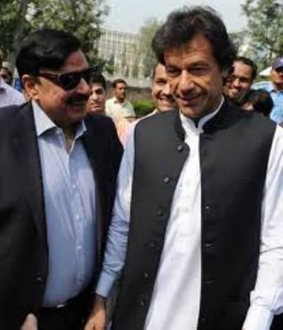 عمران خان اور شیخ رشید کی پیر کی شام ملاقات متوقع، لال حویلی کے شیخ یقین دہانیوں کے خواہاں