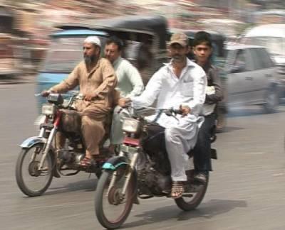 کراچی میں ڈبل سواری کے گرفتار ملزمان عدالت میں پیش