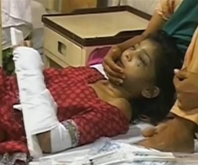 بارہ سالہ گھریلوملازمہ پر مالکان کا تشدد، تشویشناک حالت میں جناح ہسپتال لاہور منتقل