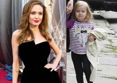 اینجلینا جولی ئنی فلم میں اپنی چار سالہ بیٹی کے ہمراہ نظر آئیں گئیں