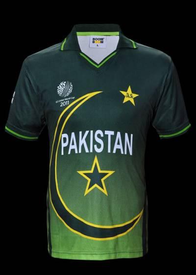 پاکستانی کرکٹ ٹیم کے نئے یونیفارم کی رونمائی