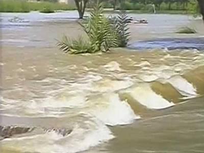 رودکوہیوں میں طغیانی ،ڈی آئی خان کا پہاڑ پور سے رابطہ کٹ گیا