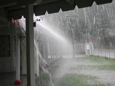 بارش ہوتی رہے گی : محکمہ موسمیات