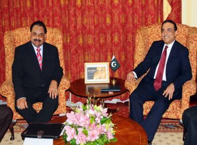 صدرزرداری اور الطاف حسین کے درمیان ٹیلی فونک رابطہ