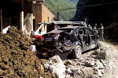 چین میں زلزلے سے ہلاکتوں کی تعداد 80 ہو گئی