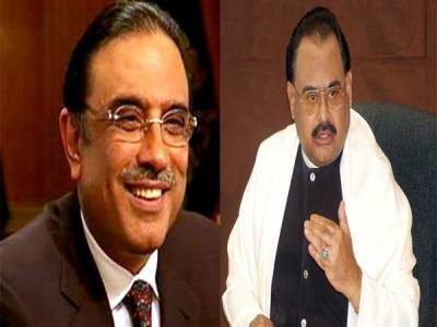 زرداری کو سندھ نے فکر مندکردیا ،الطاف سے رابطہ ،ناراض اتحادیوں کے امو ر پرتبادلہ خیال