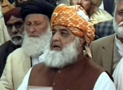 فرقہ واریت ایجنسیوں کی خواہش پرہوتی ہے:فضل الرحمان