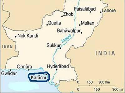 کراچی میں منشیات کے اڈے پرکریکر حملہ
