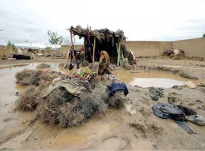 بارشوں سے متاثرہ علاقوں کو آفت زدہ قرار دینے پر غور