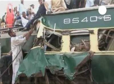 کراچی : دو ٹرینوں میں تصادم ، تین افراد ہلاک ، ابتدائی رپورٹ تیار