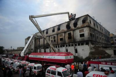 سانحہ بلدیہ ٹاﺅن: پولیس نے فیکٹری کے تین چوکیداروں کو حراست میں لے لیا